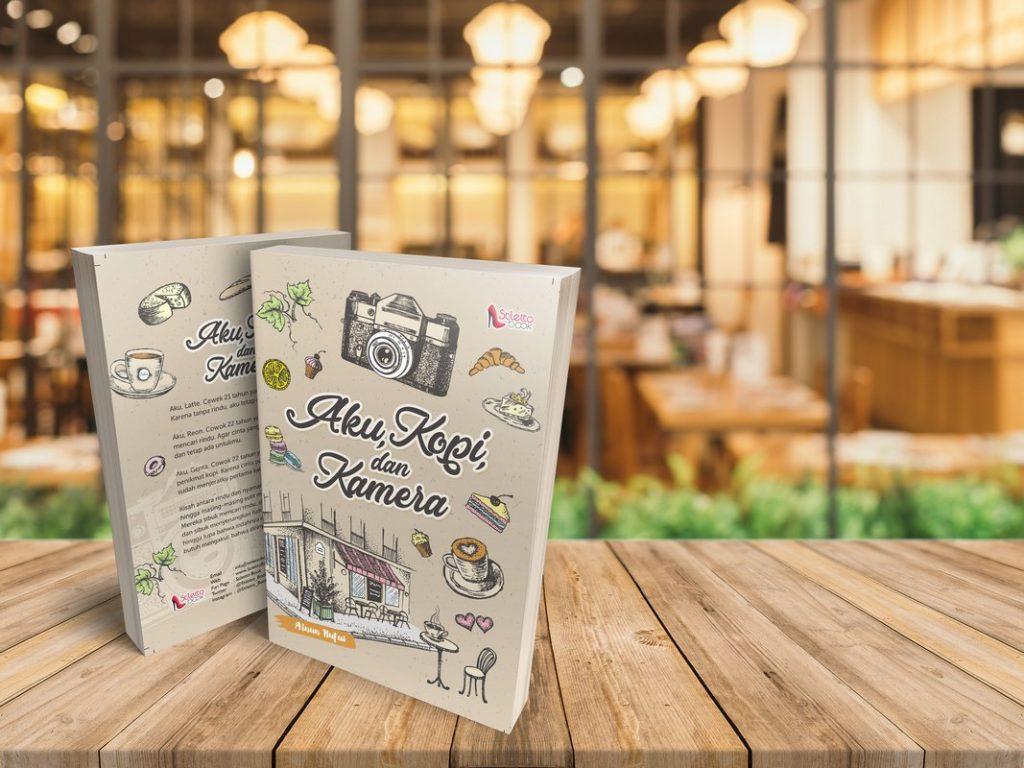 Salah satu produk penerbitan buku mayor Stiletto Book: Aku, Kopi, dan Kamera