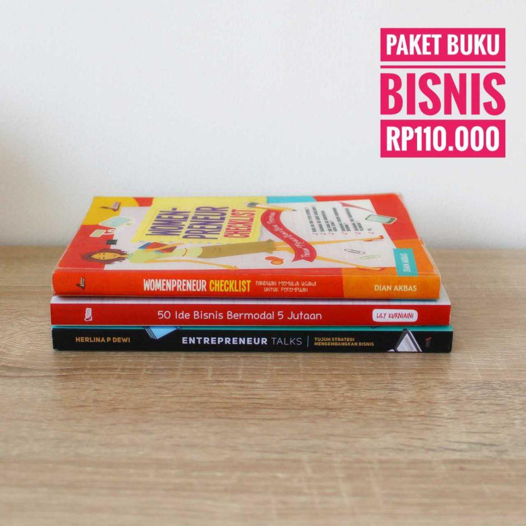 Paket Buku Bisnis untuk perempuan produktif