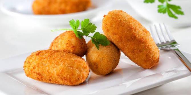 Camilan anak: kroket kentang